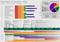 Michael J. Conaty's Visual Resume